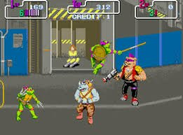 Teenage Mutant Ninja Turtles- Foot Clan Street Brawl