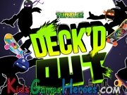 Playing Teenage Mutant Ninja Turtles - Deck´d Out