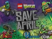 Teenage Mutant Ninja Turtles - Save April